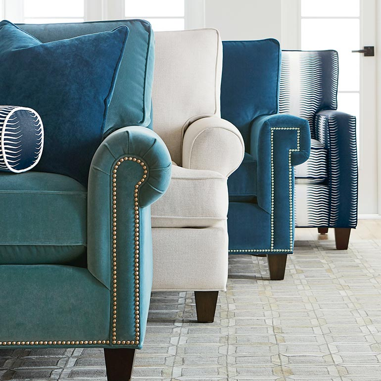 Build Your Own Sectional Fabric Sectionals