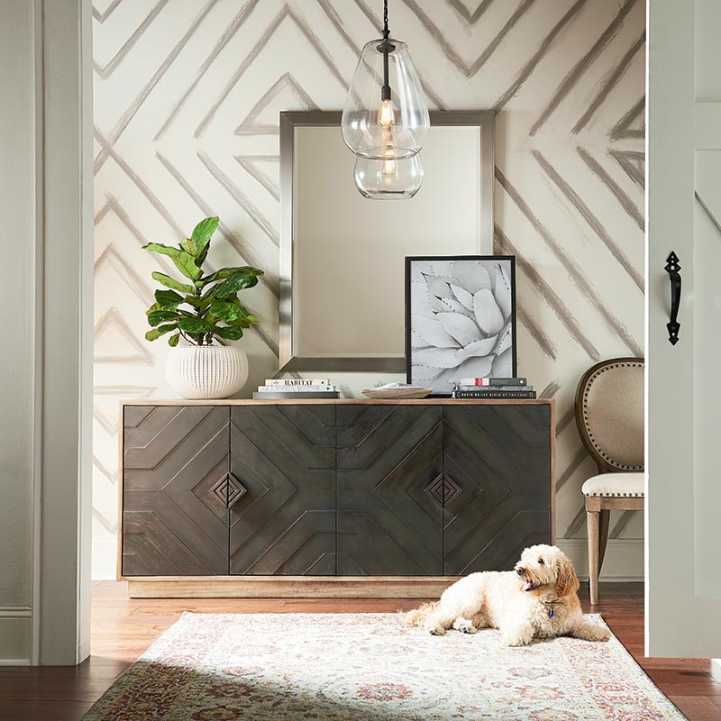 Modern Foyer Design Ideas | Bassett Furniture