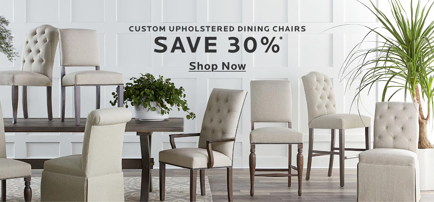 Custom Upholstered Dining Chairs - Tablet