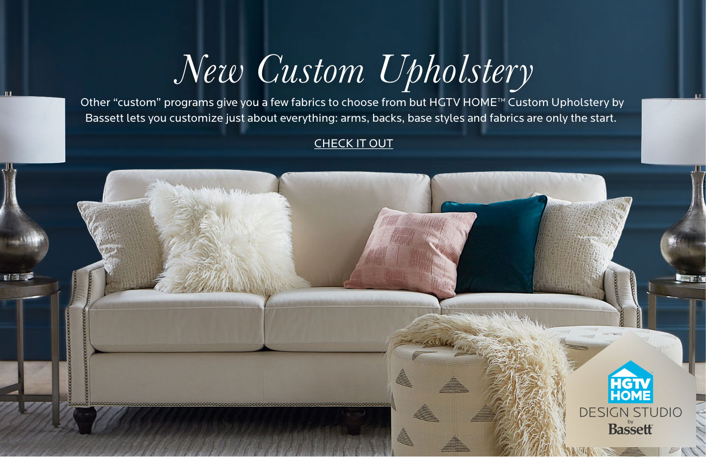 Custom Upholstery - Tablet