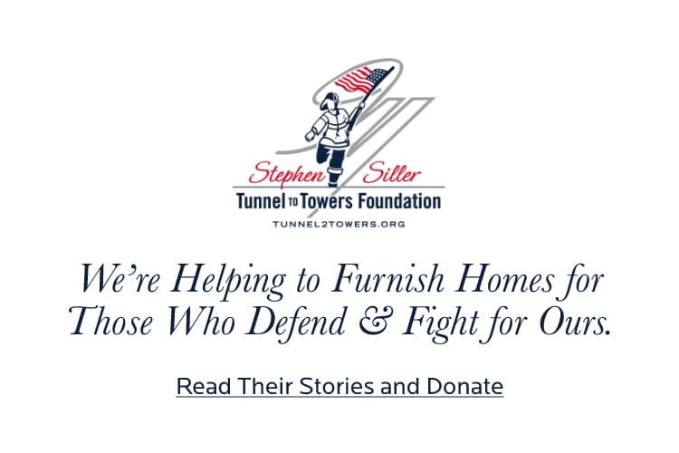 Our Partnership with the Tunnel to Towers Foundation