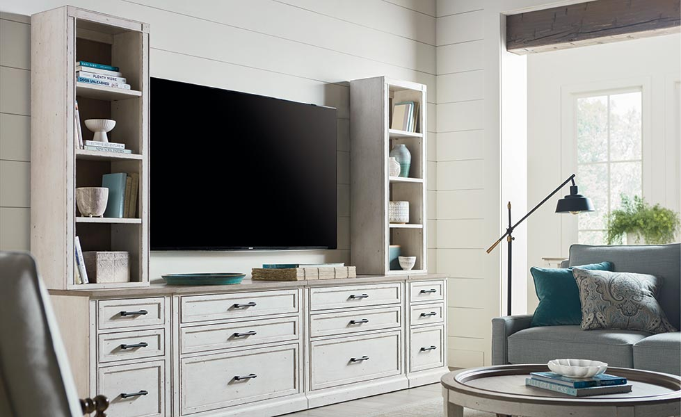 Where To Place A Tv In Any Room Bassett Furniture