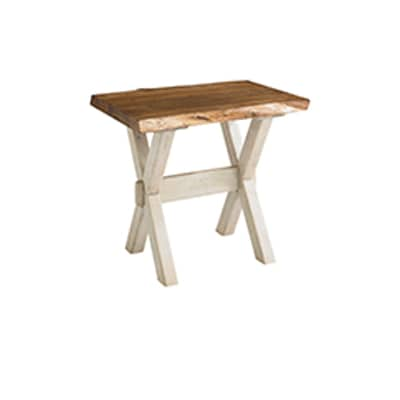 Crossbuck End Table