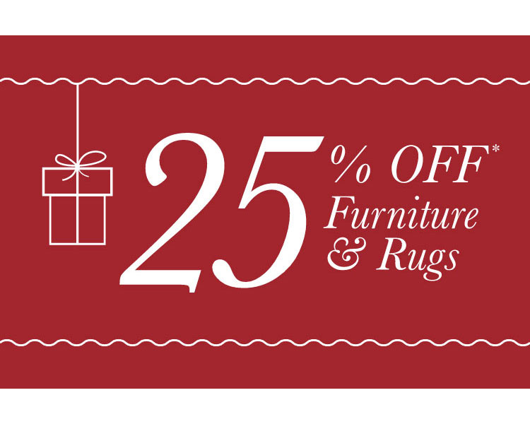 Take 25% Off Furniture & Rugs - Mobile