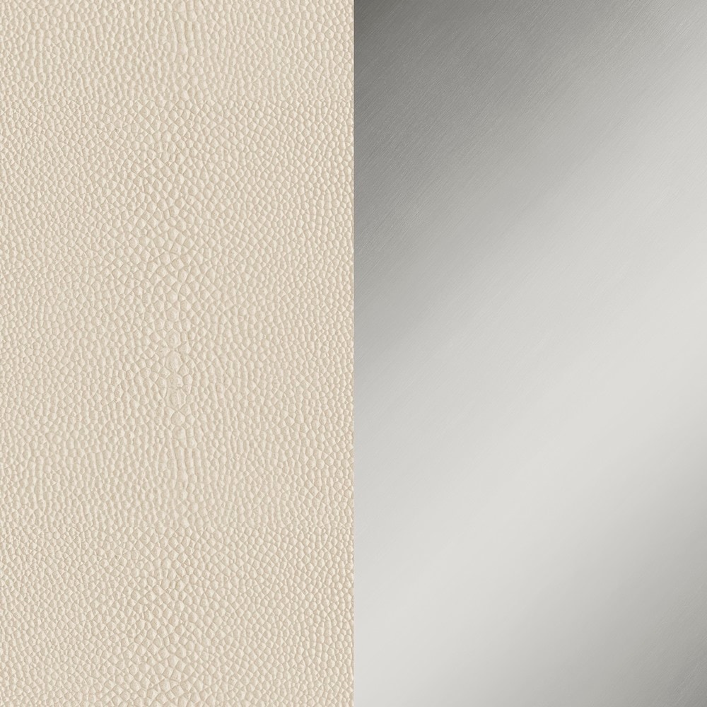 IVORY SHAGREEN / STAINLESS