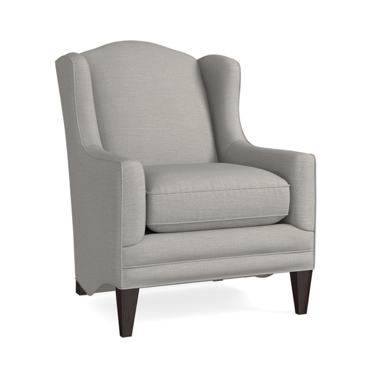 Superb Tall Wingback Fabric Accent Chair With Tapered Leg Fleming Ocoug Best Dining Table And Chair Ideas Images Ocougorg