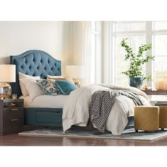 Custom Uph Beds ViennaArched Storage Bed
