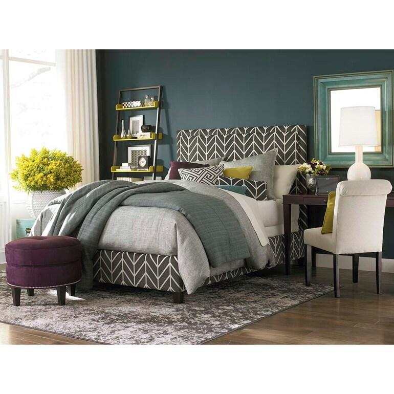 Rectangular Bed