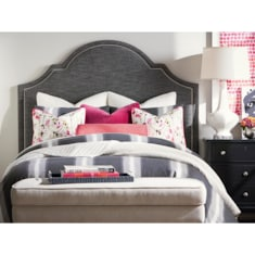 HGTV<sub>®</sub> HOME Custom Uph Beds BarcelonaBonnet Bed