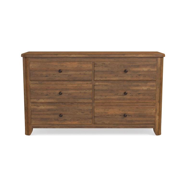 Maple 6 Drawer Dresser