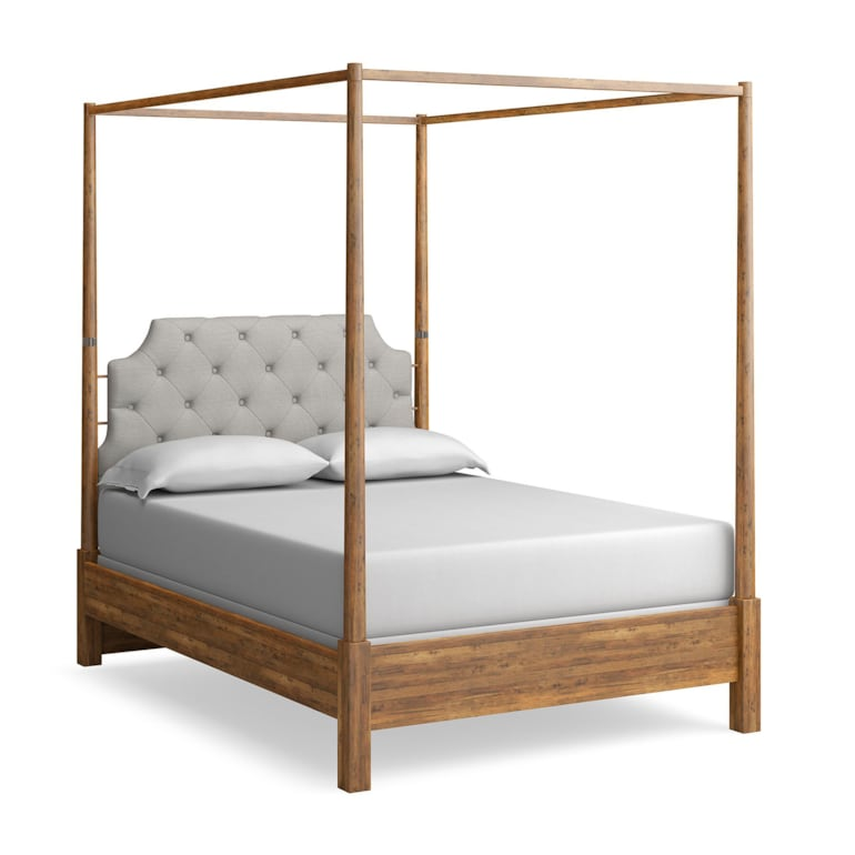 Uph. Poster Bed with Canopy