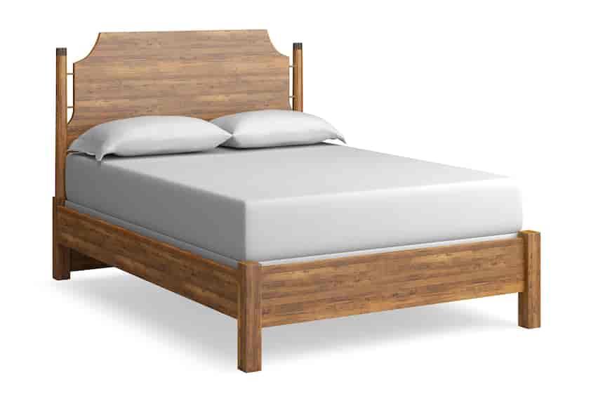 Maple Queen Panel Bed