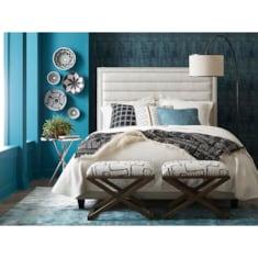 Custom Uph Beds WestburyRectangular Bed