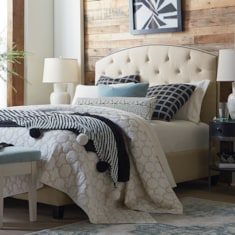 HGTV<sub>®</sub> HOME Custom Uph Beds SavannahArched Bed