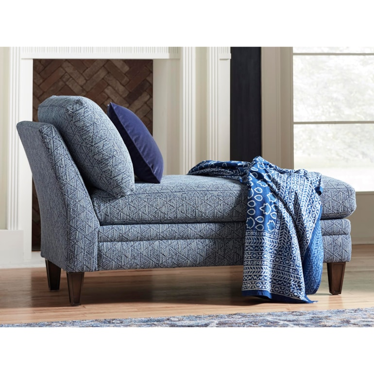 Petite Armless Chaise