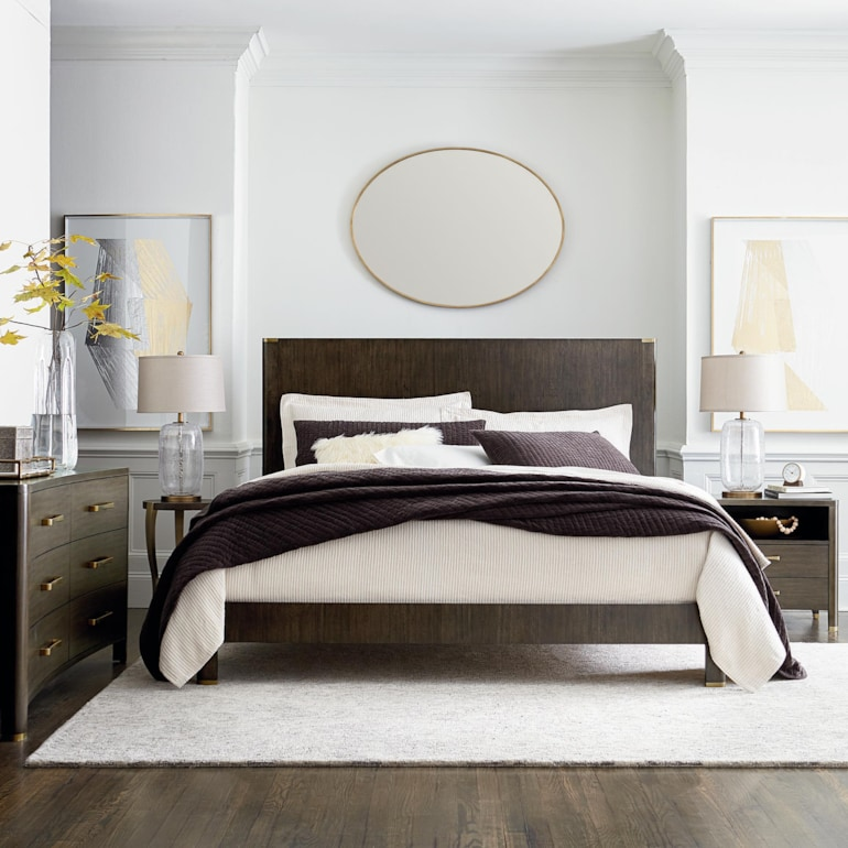 Catania Panel Bed
