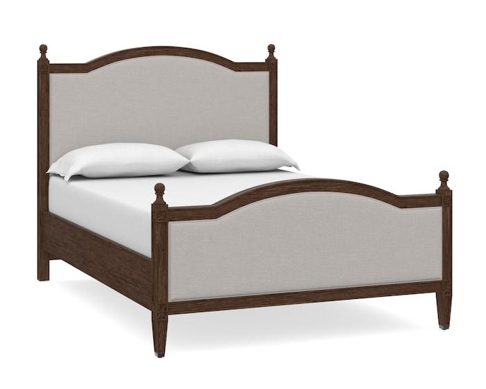 Queen Upholstered Bed, Charlotte Queen Bed