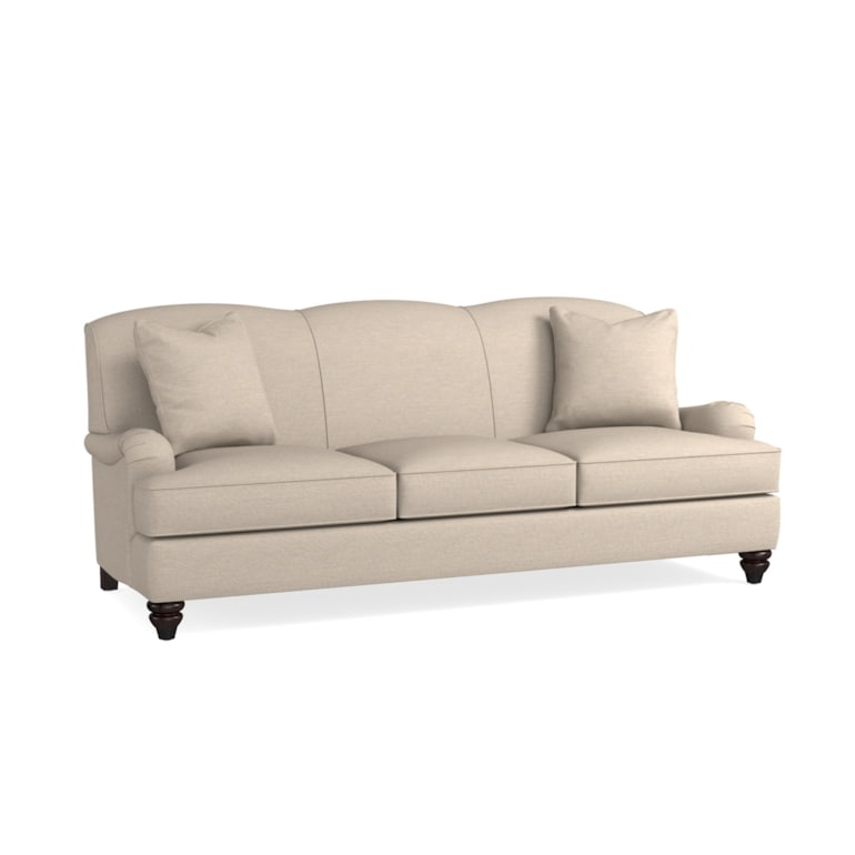 Fabric Sofa With Low Charles Of London
