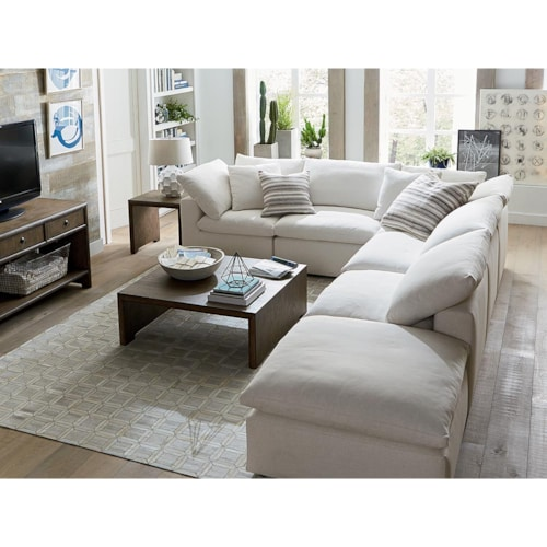 6pc L-Shaped Sectional