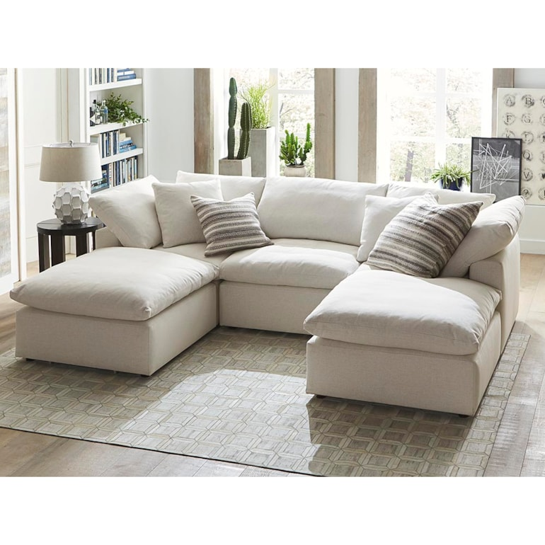 Small Double Chaise Sectional