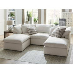 EnvelopSmall Double Chaise Sectional