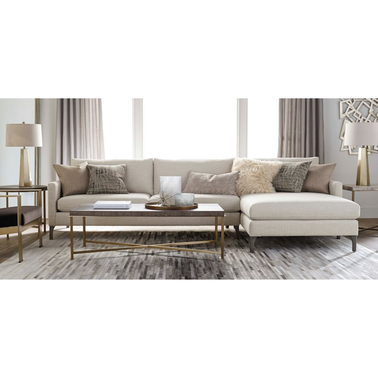 2 Piece Right Chaise Sectional