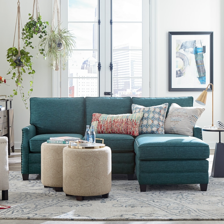 Small Right Chaise Sectional