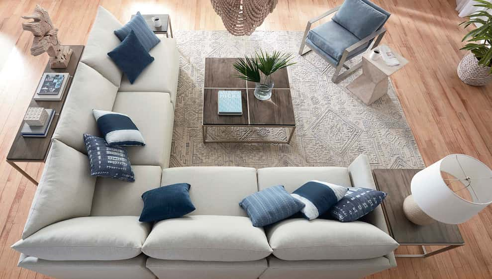 L Shaped Sectional, Bassett Furniture Sectional