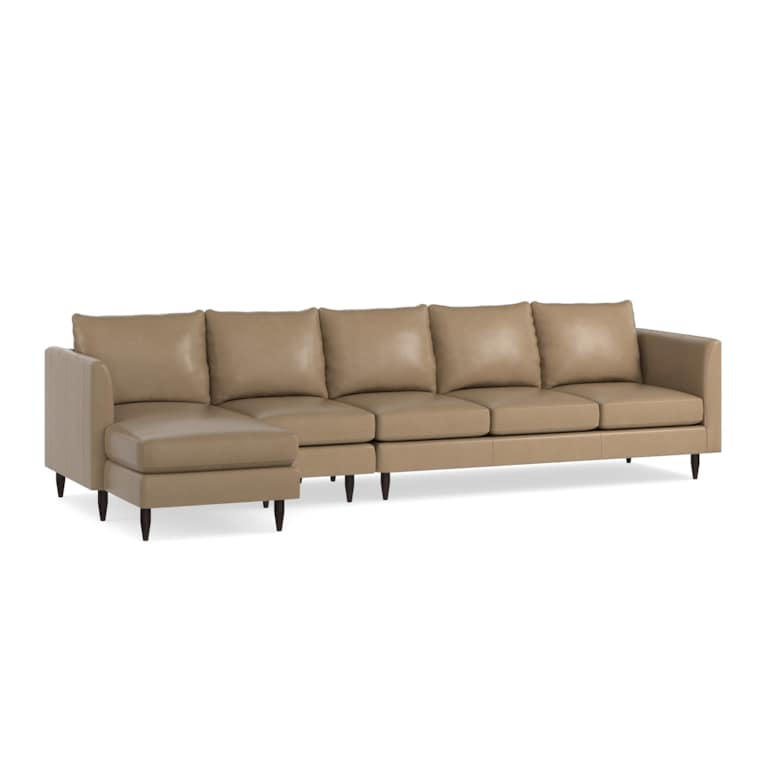 3 Piece Left Chaise Sectional