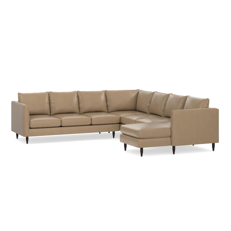5 Piece U-Shaped Sectional