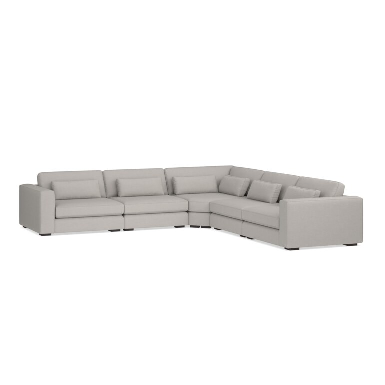 5 Piece L-Shaped Sectional