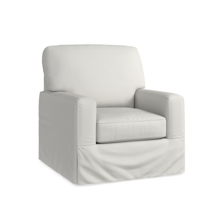 Slipcover Swivel Chair