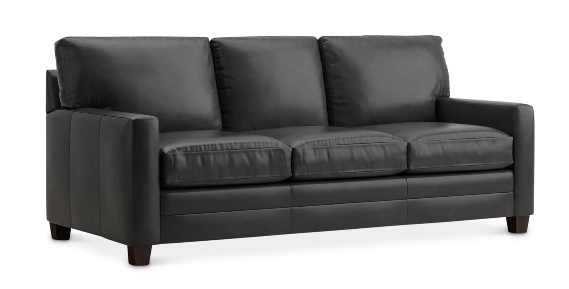 Ladson Queen Sleeper Sofa In Leather American Casual