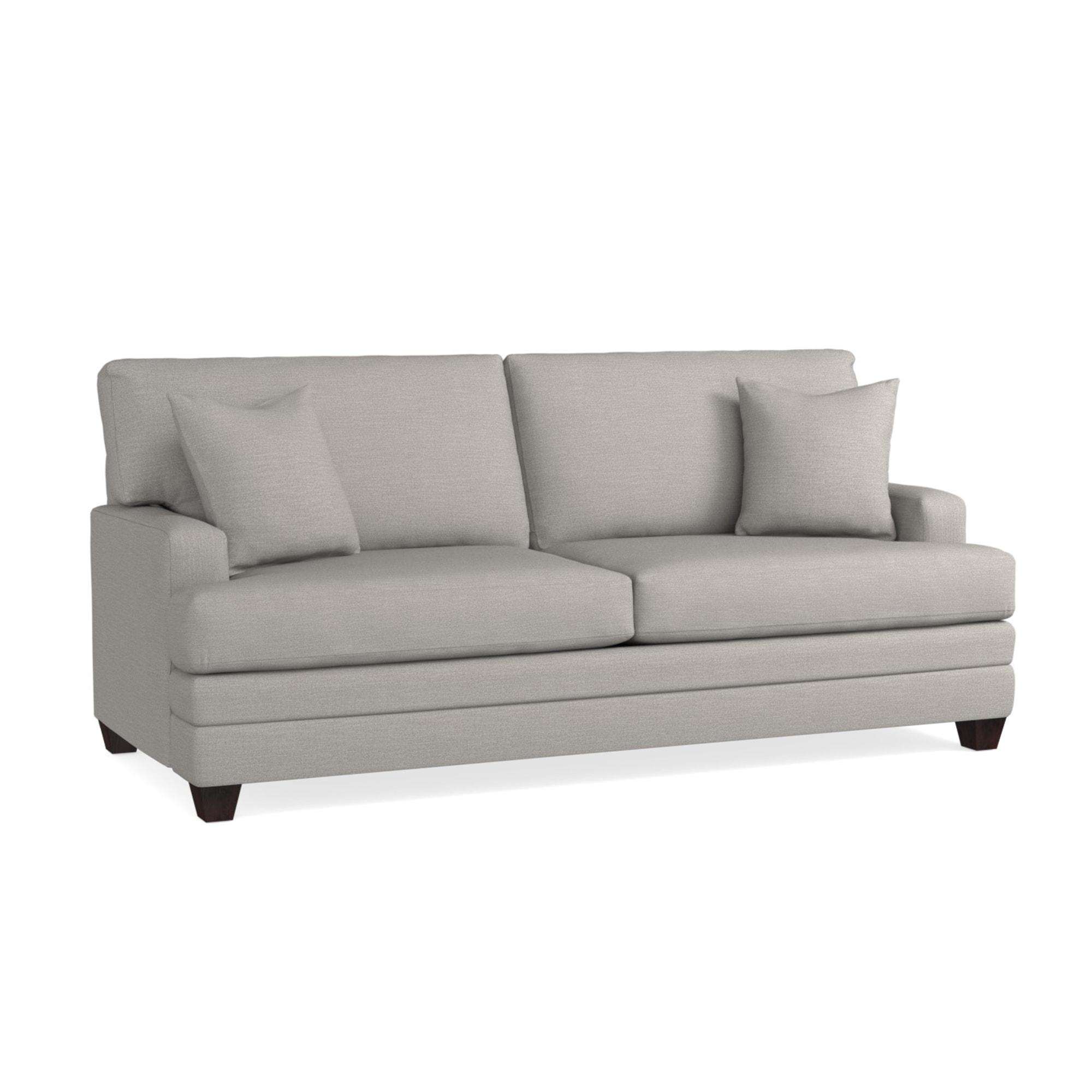 - Khaki Fabric Sleeper Sofa