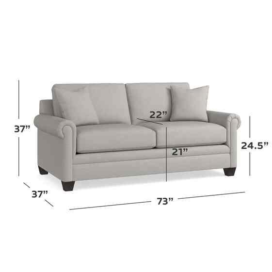 Panel Arm Studio Sofa