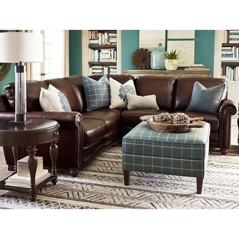 Super Hand Rubbed Leather Small L Shaped Sectional Hamilton Machost Co Dining Chair Design Ideas Machostcouk