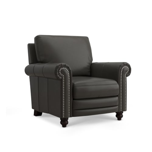 Leather Recliner w/Power