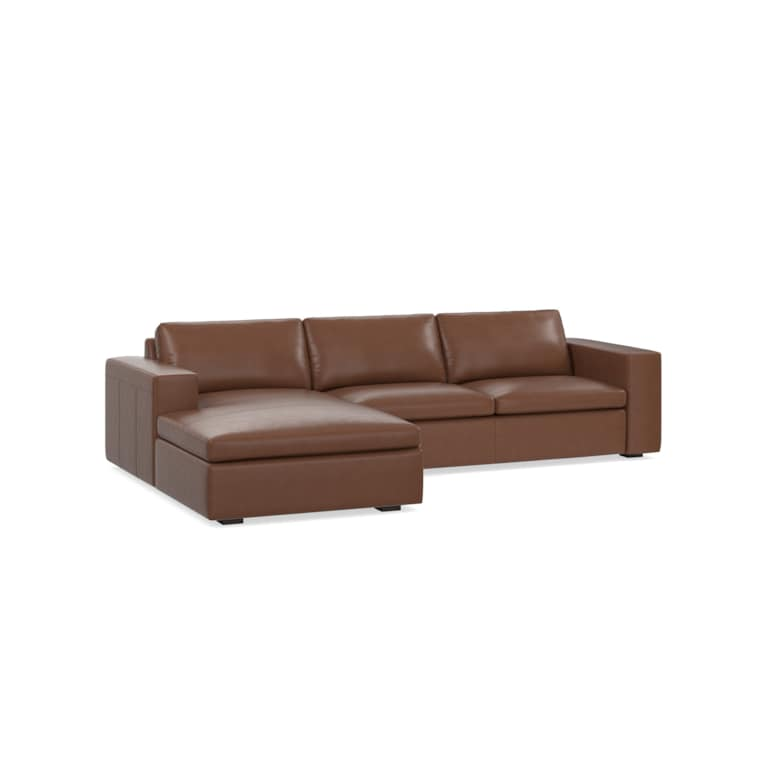 2 Piece Left Chaise Sectional