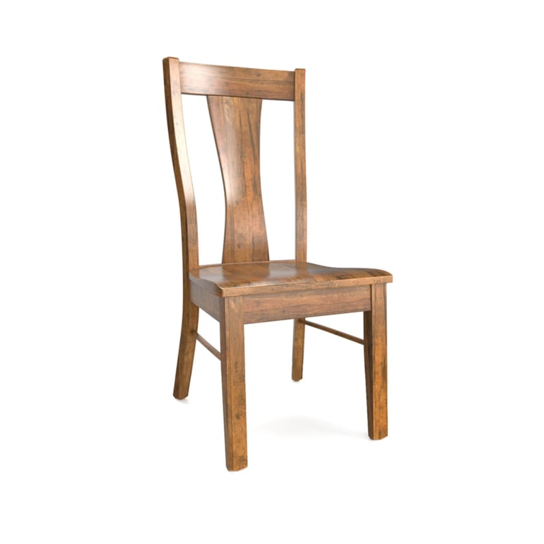 Wooden Dining Side Chair 4 Styles Bench Made Maple