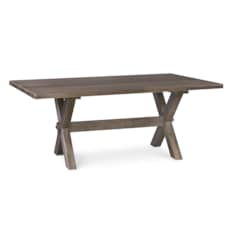 Crossbuck Maple Dining Table