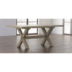 CrossbuckOak Live Edge Dining Table