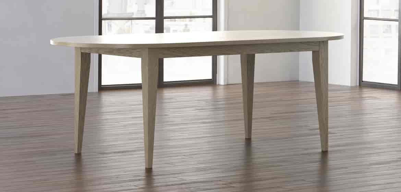 Oak Oval Dining Table