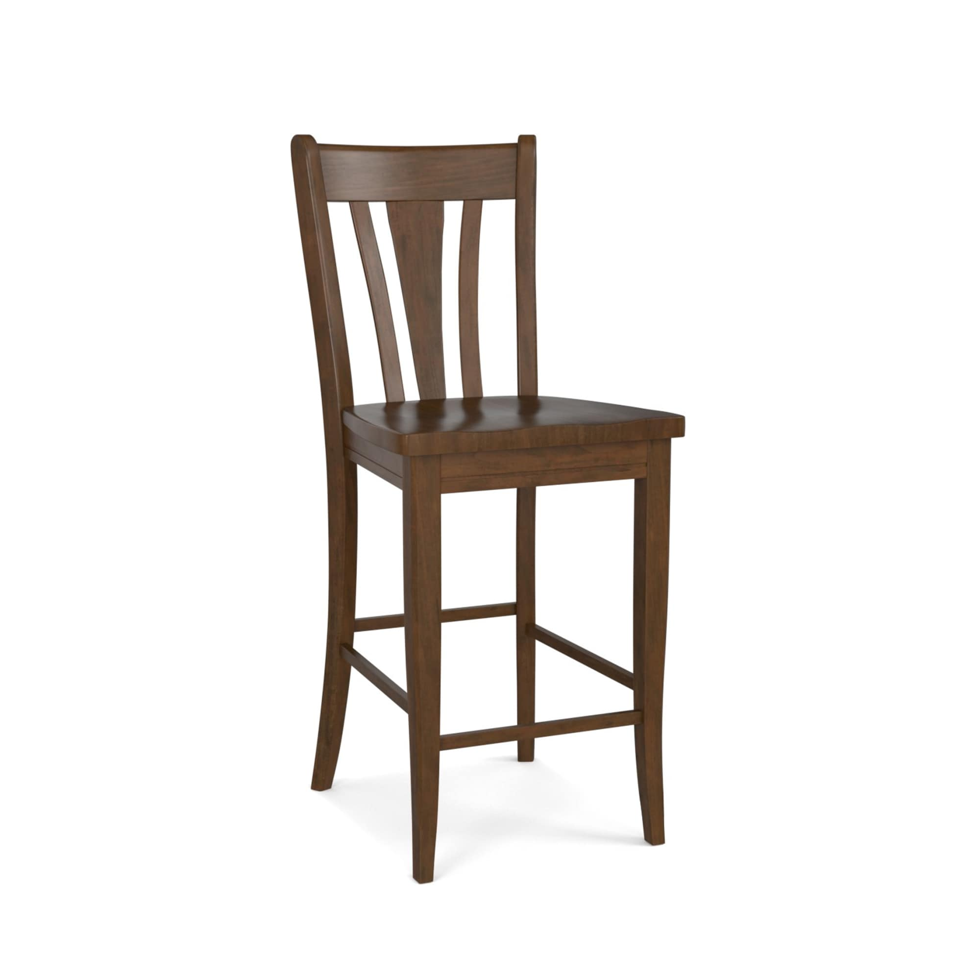 Picture of: Wood Dining Bar Stool Custom Dining