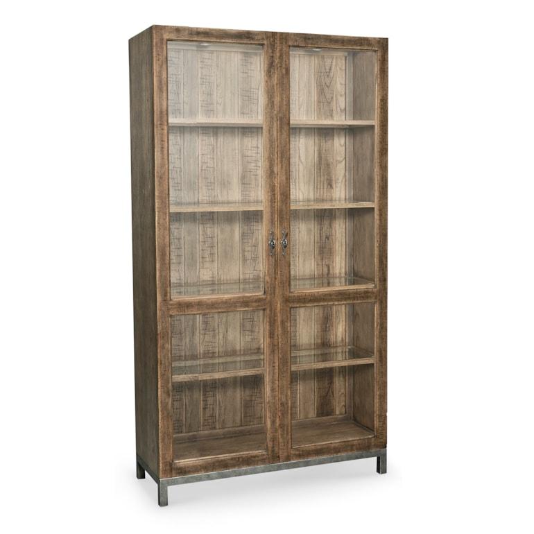 Glass Door Wine Cabinet