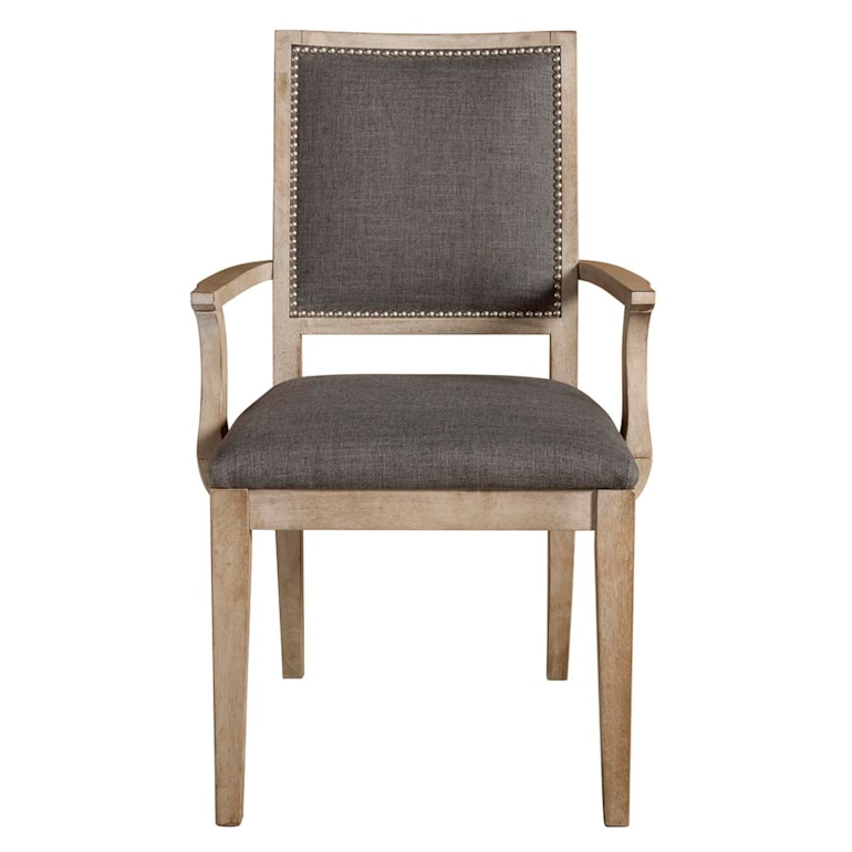 Square X-Back Uph Arm Chair