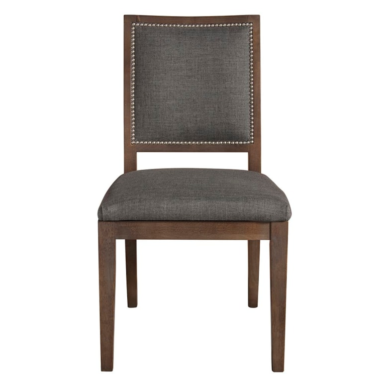 Square X-Back Uph Side Chair
