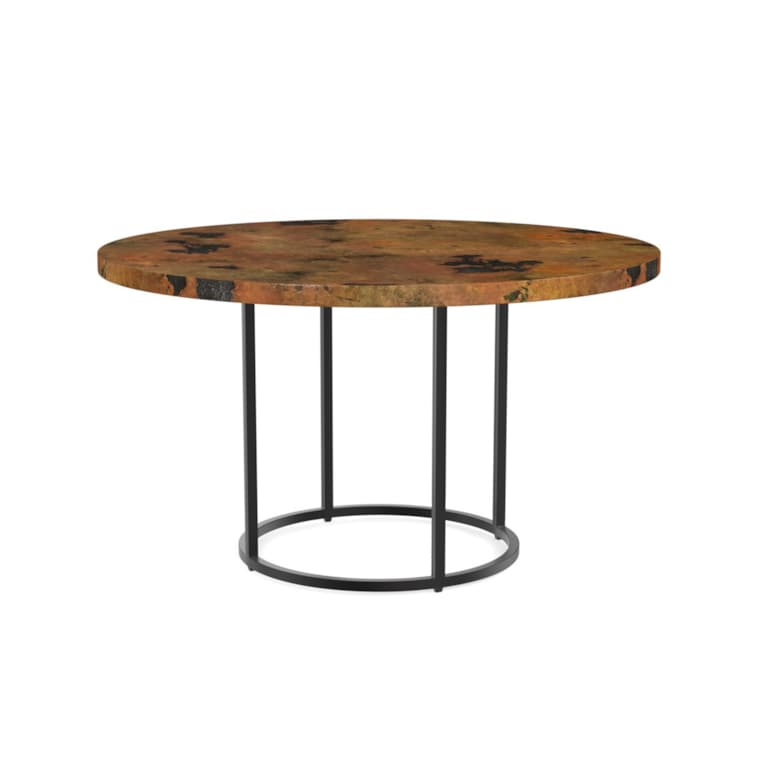 "54"" Wood Table w/Round Base"