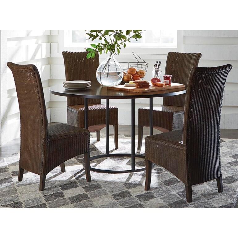 "54"" Wood Table w/Round Base"