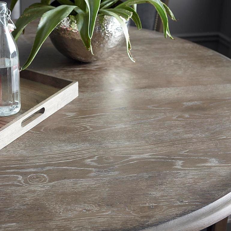 "60"" Wood Table w/Turned Base"
