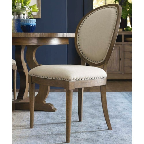 Oval Back Side Chair